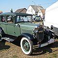 FORD Model A Town Sedan 1930 Rustenhart (1)