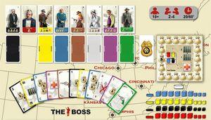 Boutique jeux de société - Pontivy - morbihan - ludis factory - The boss contenu