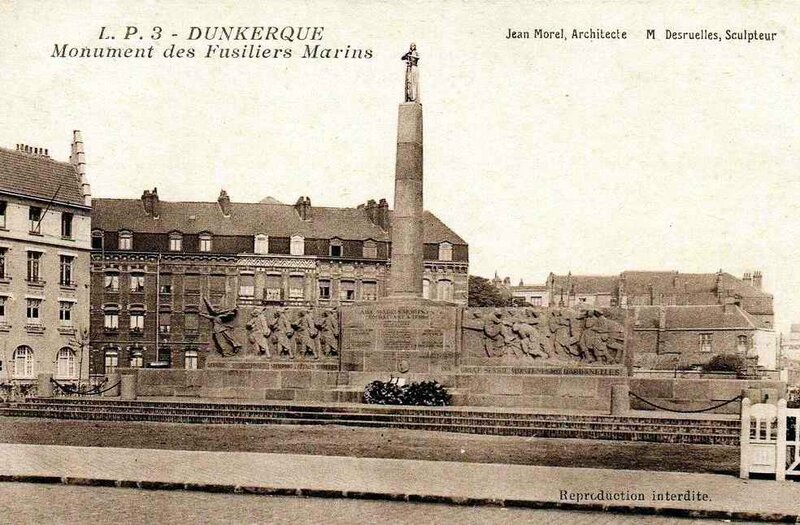Monument fusillers marins Dunkerque