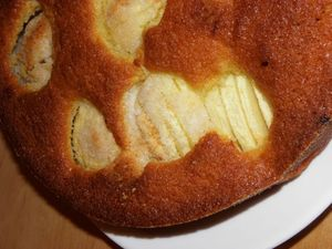 Gâteau aux pommes et coco (7)