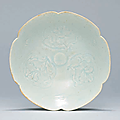 A qingbai petal-lobed bowl, song dynasty (960-1279)