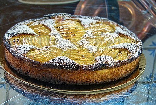 tarte bourdaloue aux poires magnifique dessert d 39 automne du miel et du sel. Black Bedroom Furniture Sets. Home Design Ideas