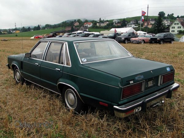 mercury zephyr 4door sedan 1978 b