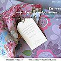 Marimerveille étiquettes bouquets 2