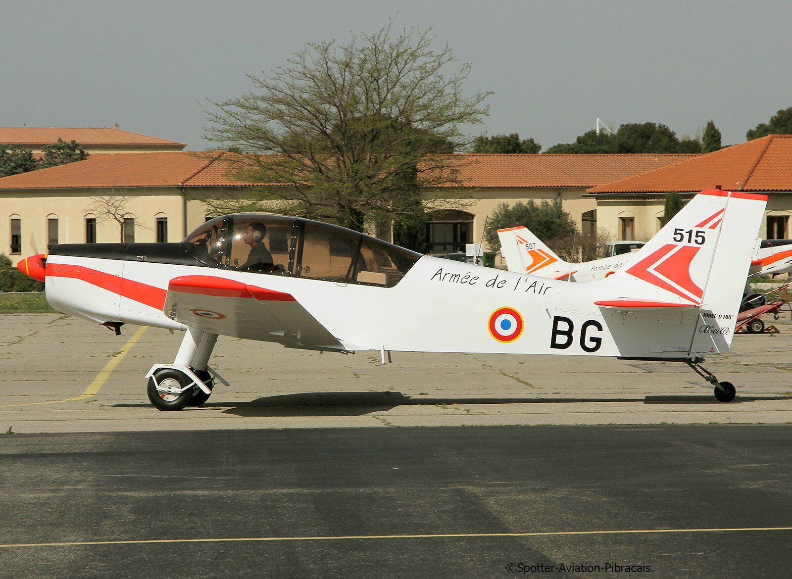 Salon de provence g n ral pineau air base ba 701 lfmy french air force jodel d 140 abeille - Base 701 salon de provence ...