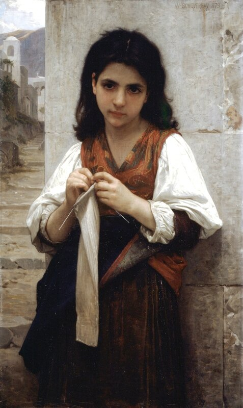 William-Adolphe_Bouguereau_(1825-1905)_-_Tricoteuse_(1879)
