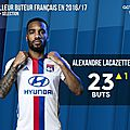 But lacazette guingamp vs lyon (0-1)