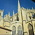 Narbonne: cathédrale st just et st pasteur
