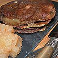 Compte-à-rebours enclenché! kémia breizh en mille feuilles: crêpes de blé noir, camembert, andouille et pomme