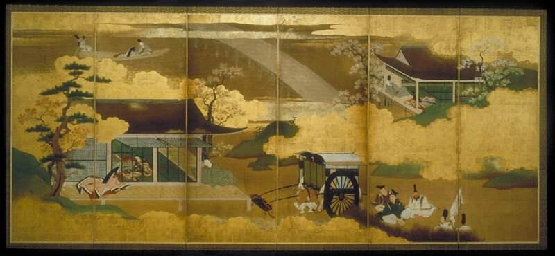 Scenes from The Tale of Genji1