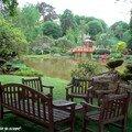 Le banc fait salon au Parc d'Apremont sur Allier
