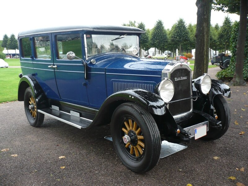 WILLYS KNIGHT 4door Sedan 1928 Schwetzingen (1)