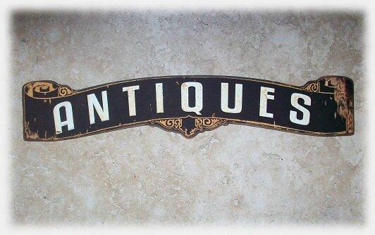 plaque antique
