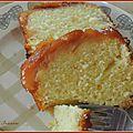 Cake tatin aux pêches