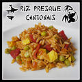 Riz presque cantonais...