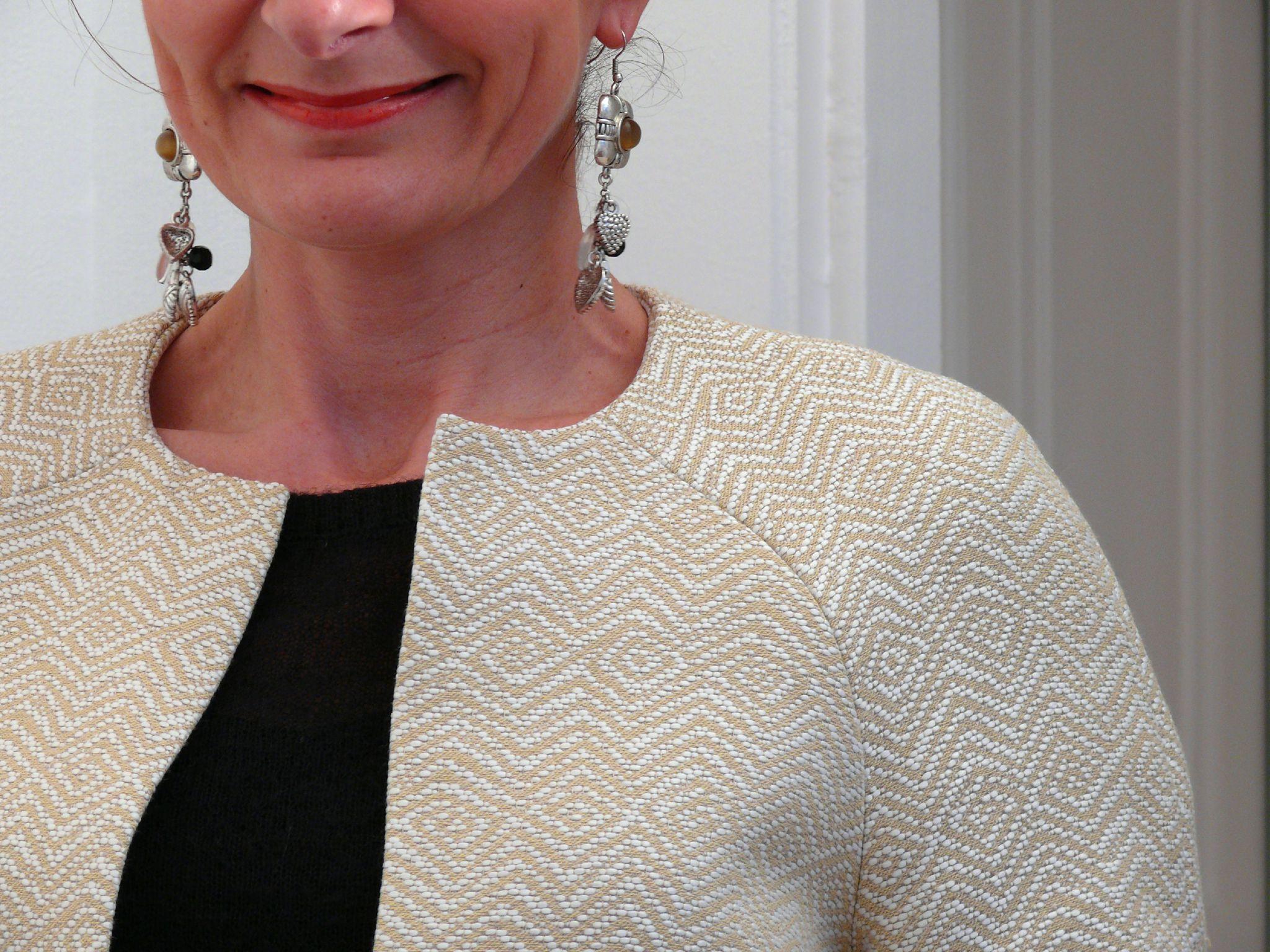 Veste femme chic couture