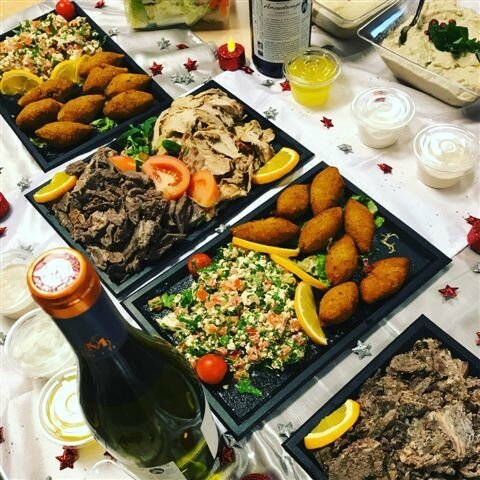 Buffet libanais ©Kid Friendly