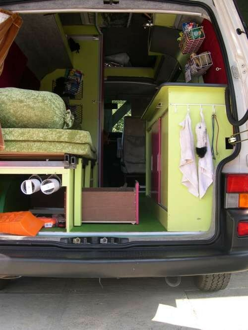 3 me am nagement du t4 volkswagen camping car. Black Bedroom Furniture Sets. Home Design Ideas