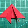 Tuto sapin origami 005