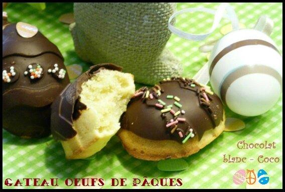 Gateau de paques noix de coco