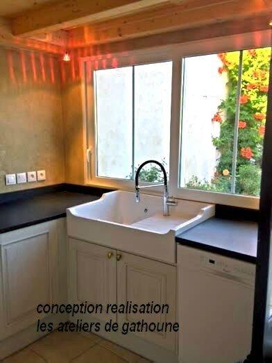 conception realisation beton ciré cuisine