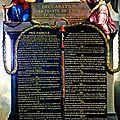 Ddhc : la déclaration du 26 août 1789