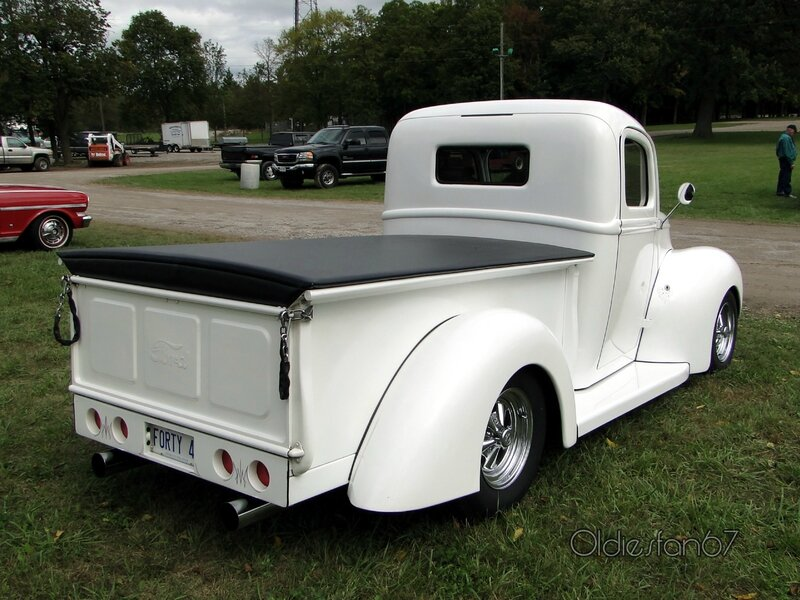 ford pickup 1947-front end 1940 b