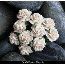 rose ivoire 10mm