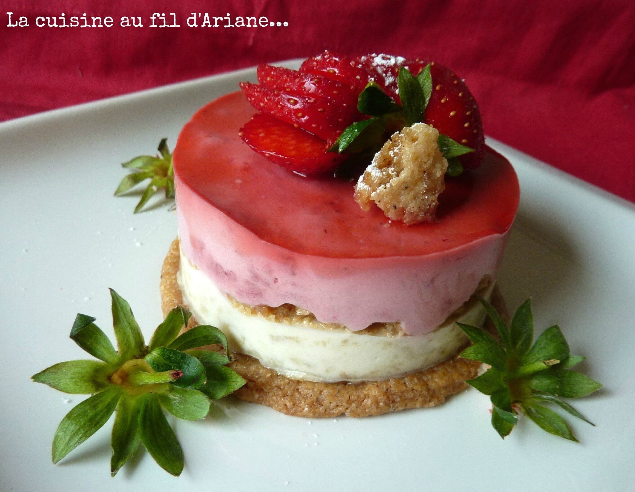 Layer Cake Fraise Speculoos