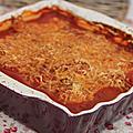 Concours recettes - lasagnes de courgettes aux raviolis et sa sauce tomate aux olives noires et vertes