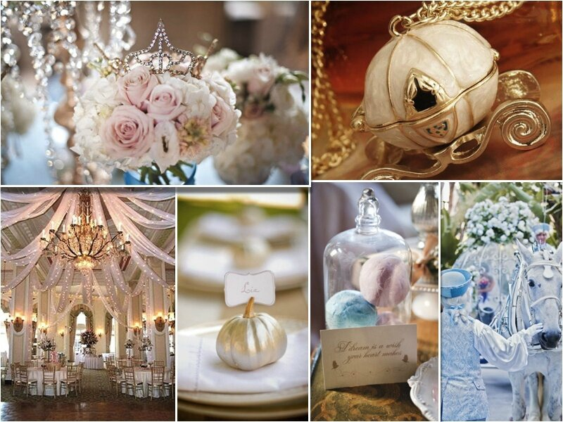 Un Mariage de princesse: Cendrillon - Rose Fantaisie *Wedding Planner ...