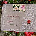 enveloppe Roses pour Francine