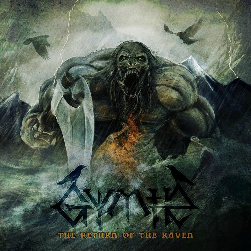 Gymir - 2013 - The Return Of The Raven 1 Front