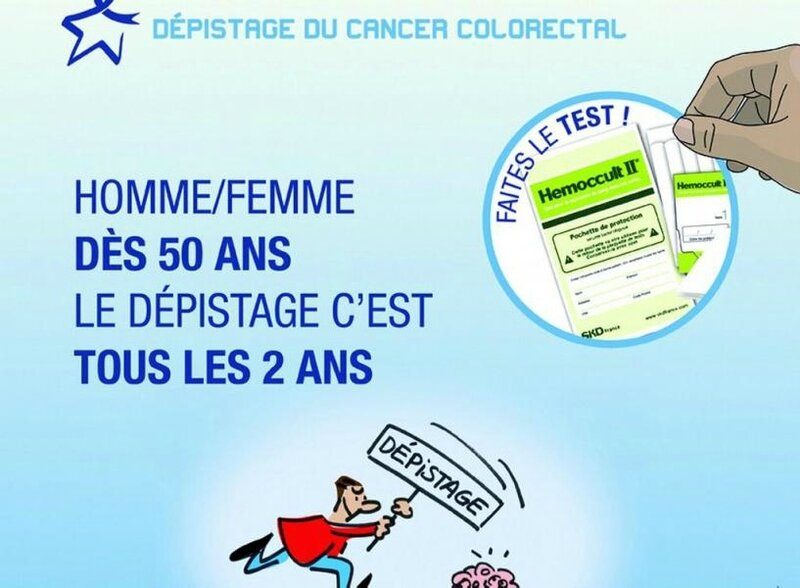 cancer du colon, dépistage