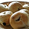 Bagels au raisin