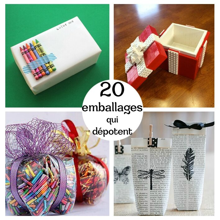 20 emballages