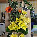 Art floral : 2ème version .... plutôt pas mal !!! je trouve....