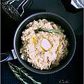 Purée de pommes de terre, haricots blancs & romarin