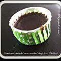 Fondants chocolat coeur coulant (mijoteur philips)
