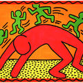 Keith Harring ''sans titre'' 1982