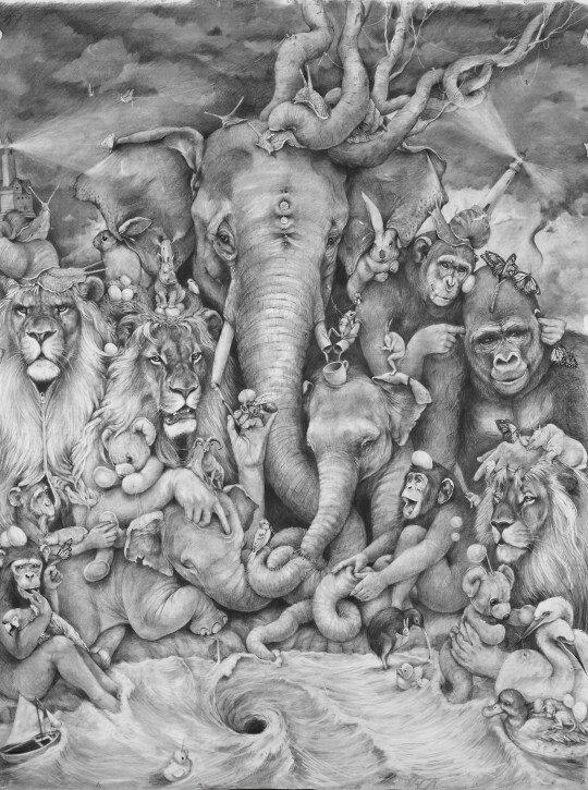 Elephant-Whirlpool