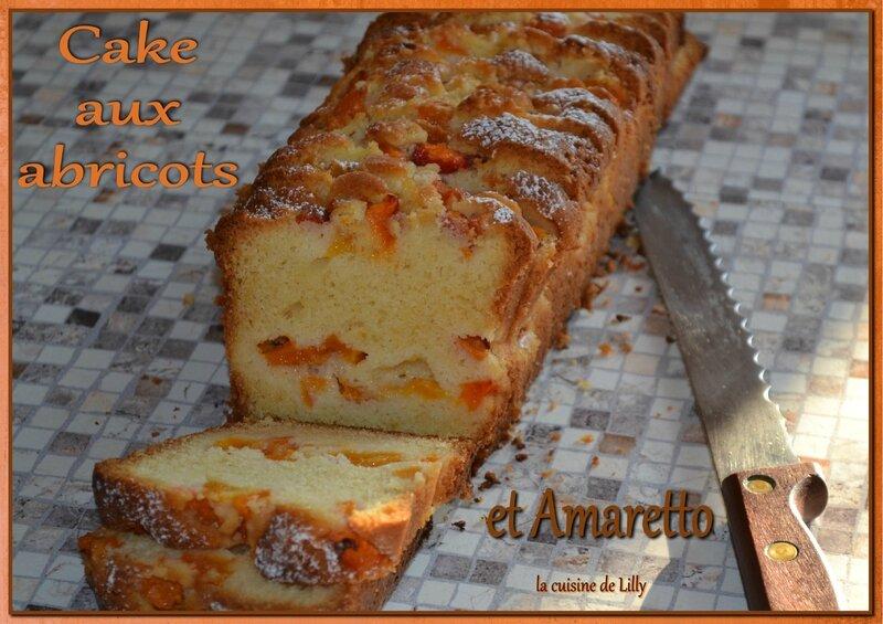 cake abricots-amaretto