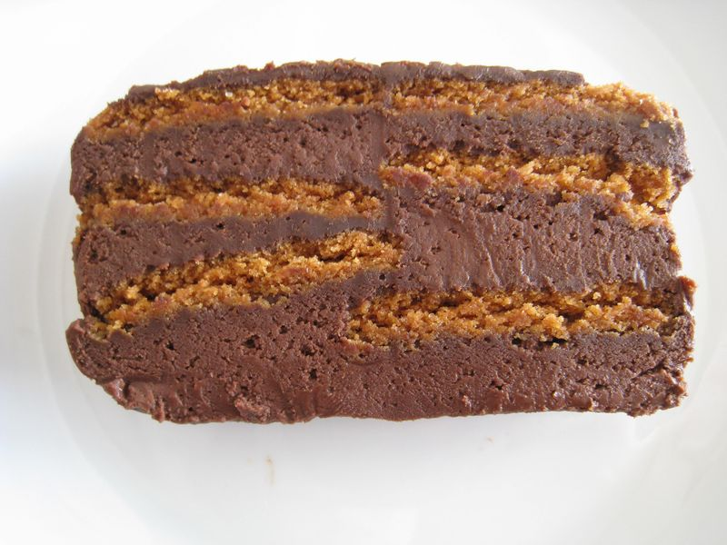 terrine chocolat et sp 233 culoos sans cuisson val s in the kitchen