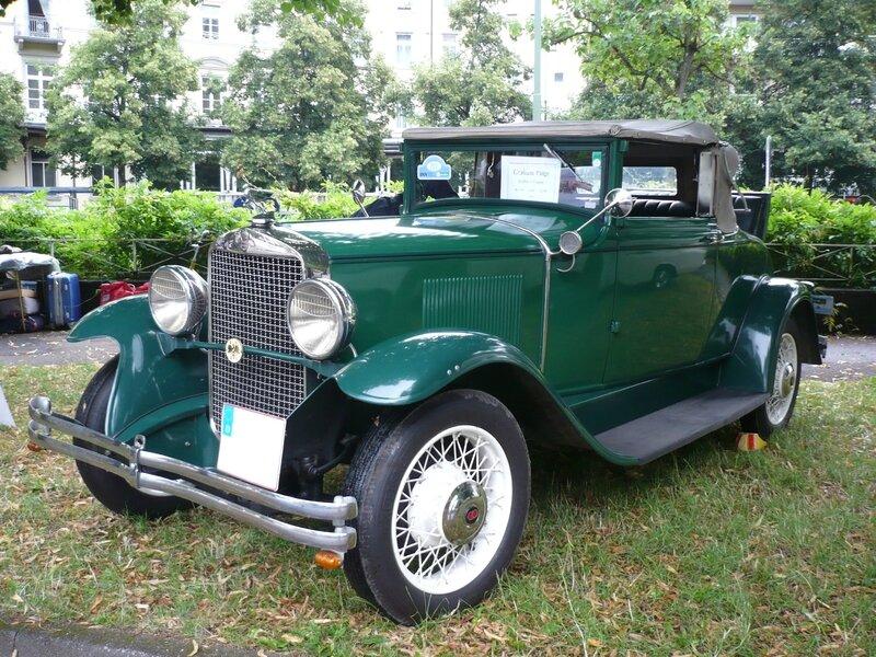 GRAHAM PAIGE Golfer's coupé 1929 Baden Baden (1)