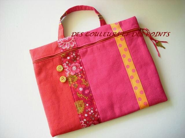 cartable rose BIS
