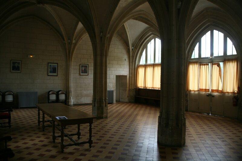 Ferrières-en-Gâtinais, salle capitulaire (Photo A. Estienne)