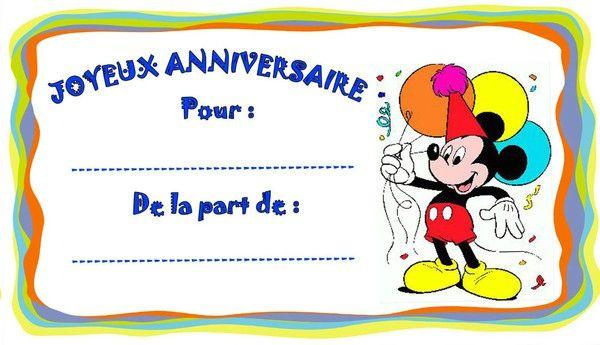 Etiquettes anniversaire enfant sylviascrap - Carte anniversaire simpson ...