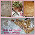 Tarte sablée aux groseilles roses et blanches, un délice de gourmandise !