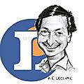 Michel Edouard Leclerc caricature