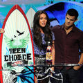 Teen choice awards 2010 : sur scène
